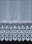 Brazil White Net Curtain