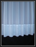 Eva White Envelope Base Net Curtain