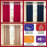 Siesta Jaz Thermal Blackout Curtains