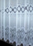 STAR White Net Curtain