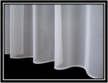 White Plain Lead Weight Curtain