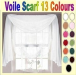 Voile Scarf in 3mtr or 5mtr Lengths