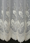 SIMONE CREAM MADE TO MEASURE PURE VOILE CURTAINS